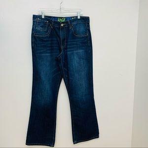 Outrage Jeans 36 X 31 Men Straight Leg Denim  Logo